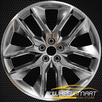 "20"" Ford Edge oem wheel 2015-2018 Hypersilver alloy stock rim 10046"