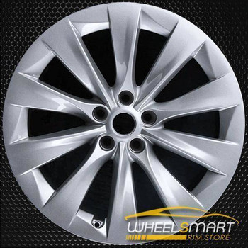 "20"" Tesla Model X oem wheel 2017 Silver alloy stock rim 97801"