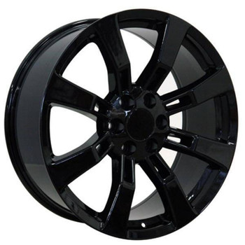 "22"" Chevy C2500 replica wheel 1988-2000 Black rims 9451340"