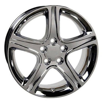 "17"" Toyota Sienna replica wheel 1998-2018 Chrome rims 4750906"