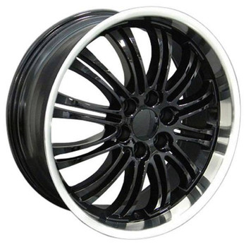 "22"" Chevy C2500 replica wheel 1988-2000 Black Machined rims 8579269"