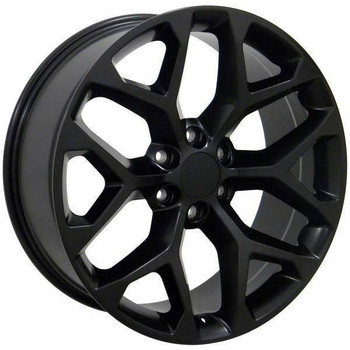 "22"" Chevy C2500 replica wheel 1988-2000 Matte Black rims 9489809"