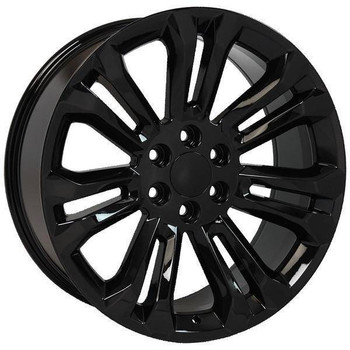 "22"" Chevy Avalanche replica wheel 2002-2013 Black rims 9507902"