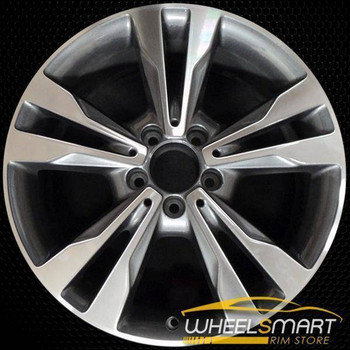 "18"" Mercedes C Class oem wheel 2015-2018 Rear Machined stock rim 85371"