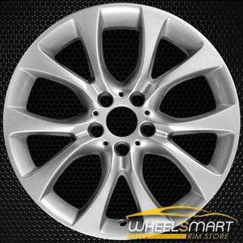 "19"" BMW X5 oem wheel 2014-2018 Silver alloy stock rim 86045"