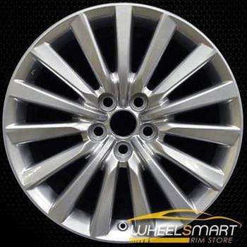 "19"" Lexus LS460 oem wheel 2013-2017 Hypersilver alloy stock rim 74285"