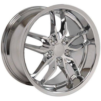 "17"" Chevy Camaro replica wheel 1993-2002 Chrome rims 9506927"