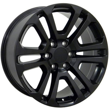 "22"" Chevy C2500 replica wheel 1988-2000 Matte Black rims 9489815"