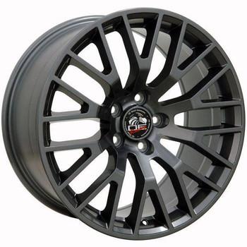 """18"""" Ford Mustang  replica wheel 2005-2016 Gunmetal rims 9490933"""