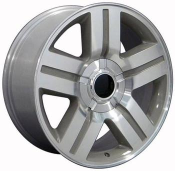 "22"" Chevy C2500 replica wheel 1988-2000 Machined Silver rims 9451365"