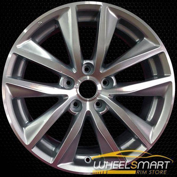 "17"" Infiniti Q50 oem wheel 2014-2017 Machined alloy stock rim 73763"