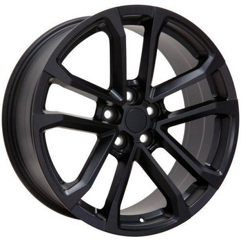 "20"" Chevy Camaro replica wheel 2010-2018 Matte Black rims 9491663"