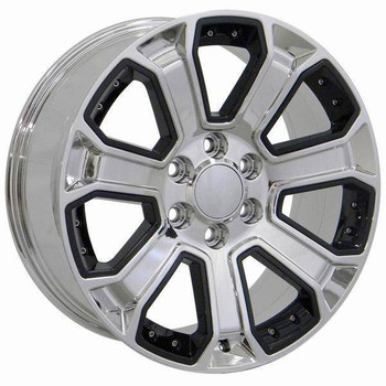 "22"" Chevy C2500 replica wheel 1988-2000 Chrome rims 9506447"