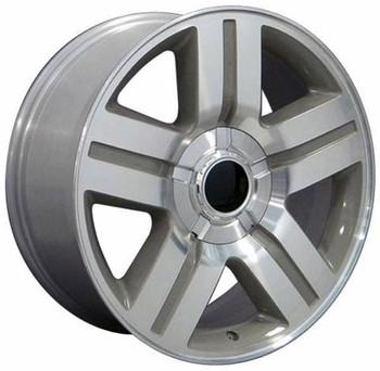 """20"""" Chevy C2500 replica wheel 1988-2000 Silver rims 6839968"""