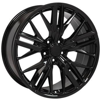 "20"" Chevy Camaro  replica wheel 2010-2018 Black rims 9506891"