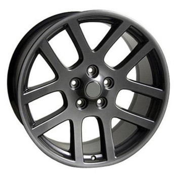 "22"" Dodge Ram 1500 replica wheel 2011-2018 Gunmetal rims 5910251"
