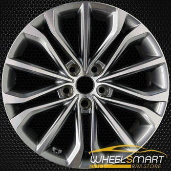 "18"" Hyundai Genesis oem wheel 2015-2018 Machined alloy stock rim 70870"