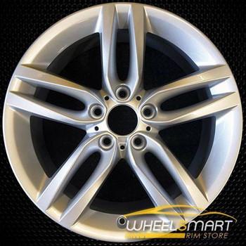 "18"" BMW 2 series oem wheel 2014-2018 Front Silver stock rim 86127"