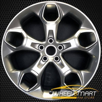 "19"" Ford Escape oem wheel 2013-2016 Hypersilver alloy stock rim 3947"