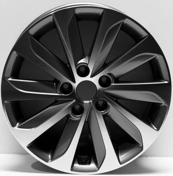 "17"" Hyundai Sonata Replica wheel 2015-2017 replacement for rim 70877"