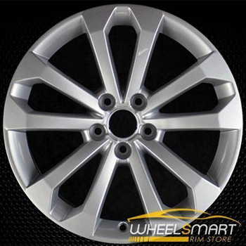 "18x8"" Audi Q5 rim 2013-2017 Silver alloy stock OEM Wheel 58917 part# 8R0601025BM"