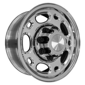 "16"" Chevy C3500 replica wheel 1988-2000 Polished rims 6710193"