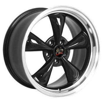 "18"" Ford Mustang replica wheel 1994-2004 Black Machined rims 8181834"