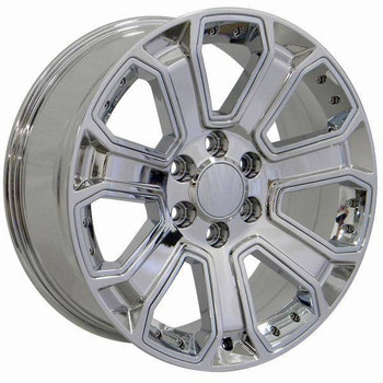 "22"" Chevy C2500 replica wheel 1988-2000 Chrome rims 9506446"