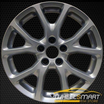 "17"" Jeep Cherokee oem wheel 2014-2018 Silver alloy stock rim 9130"