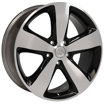 "20"" Dodge Durango replica wheel 2011-2018 Black Machined rims 9507486"