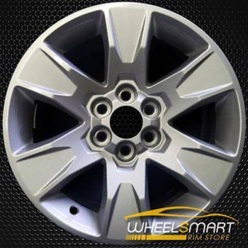 "17"" GMC Canyon oem wheel 2015-2018 Silver alloy stock rim 5693"