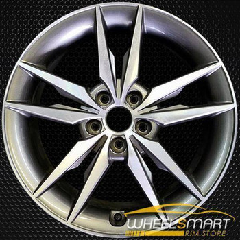 "18"" Hyundai Sonata oem wheel 2015-2017 Rear Machined alloy stock rim 70879"