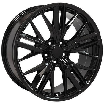 "20"" Chevy Camaro replica wheel 2010-2018 Black rims 9506887"