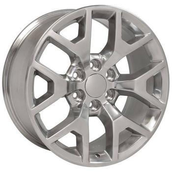"20"" Chevy Blazer replica wheel 1992-1994 Polished rims 9507292"