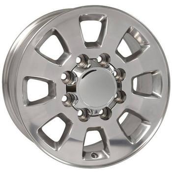 "18"" GMC Sierra 2500 3500 replica wheel 2011-2018 Polished rims 9504054"