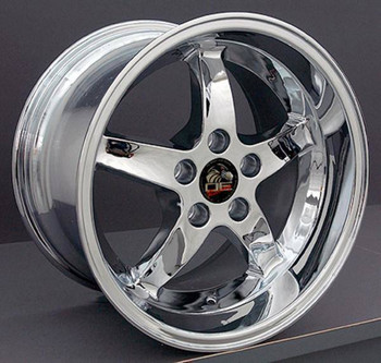 "17"" Ford Mustang   replica wheel 1994-2004 Chrome rims 8181904"