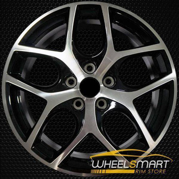 "17"" Ford Focus oem wheel 2015-2018 Machined alloy stock rim 10012"