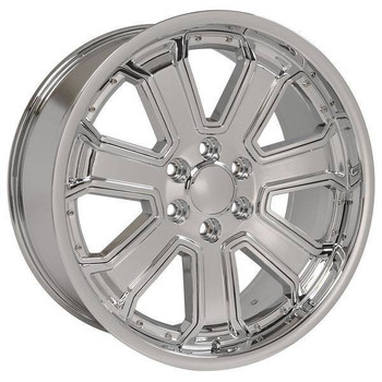 "22"" Chevy Blazer replica wheel 1992-1994 Chrome rims 9506713"