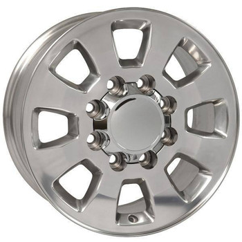 "18"" GMC Sierra 1500 replica wheel 1999-2010 Polished rims 9504057"