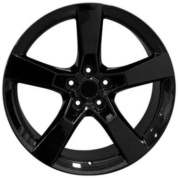 "20"" Chevy Camaro replica wheel 2010-2018 Black rims 6860742"