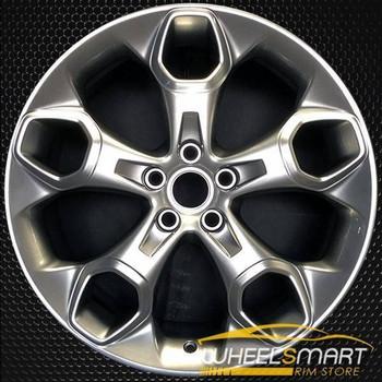 "19"" Ford Escape oem wheel Silver alloy stock rim 3947 CJ5Z1007K, CJ5C1007D1A"