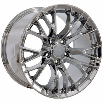 "19"" Chevy Corvette  replica wheel 2005-2013 Chrome rims 9506443"