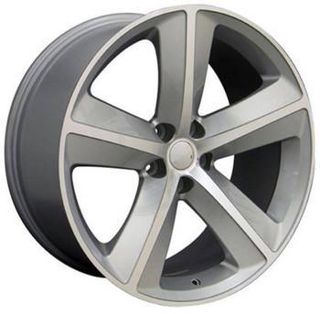 """20"""" Dodge Challenger replica wheel 2009-2018 Silver rims 6827797"""