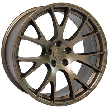 "22"" Bronze Hellcat replica wheels for Dodge Charger replacement rims 9507541"