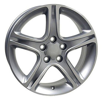 "17"" Toyota Sienna replica wheel 1998-2018 Machined Silver rims 4750910"