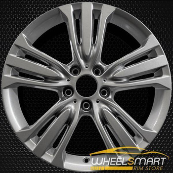 "19"" BMW X5 oem wheel 2014-2018 Silver alloy stock rim 86046"