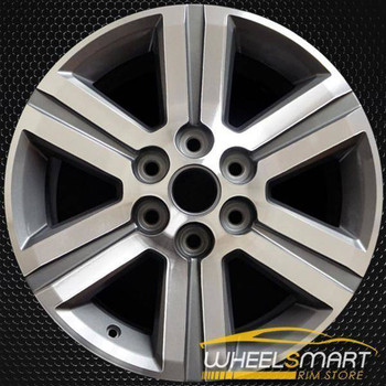 "18"" Chevy Traverse oem wheel 2013-2017 Machined alloy stock rim 5572"