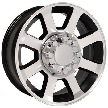 "20"" Ford F250 F350 replica wheel 2005-2018 Black Machined rims 9489819"