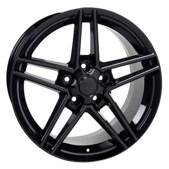 "19"" Chevy Corvette  replica wheel 2005-2013 Black rims 5910242"
