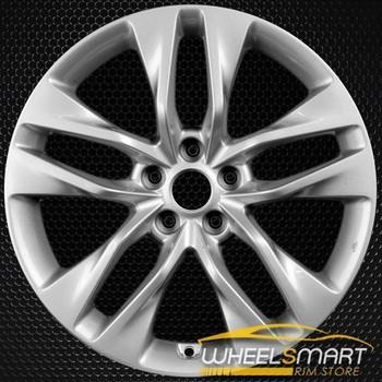 "19"" Hyundai Genesis oem wheel 2013-2016 Silver alloy stock rim 70842"